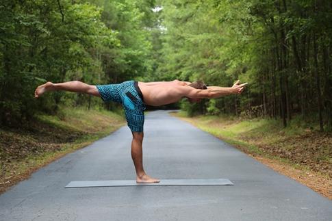 Tuladandasana - Balancing Stick Pose